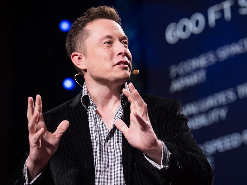 Elon Musk, speaking about artificial intelligence and the chances we're living in a simulation