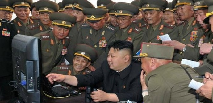 Kim Jong Un laughing about hacking of North Korean Facebook, StarCon