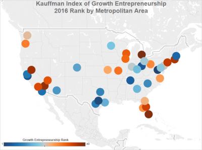 Kauffman Index Metro