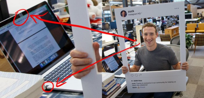 Mark Zuckerberg fighting hackers with tape