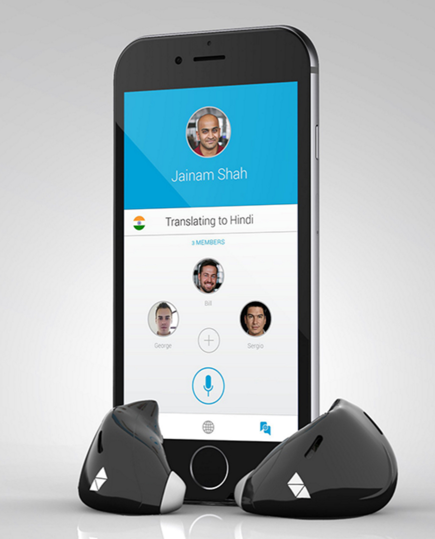 Pilot language translation app and smart earbuds from Waverly