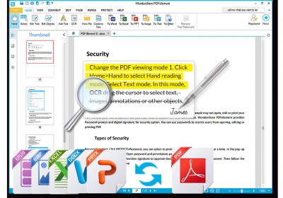 Wondershare PDF editor snapmunk