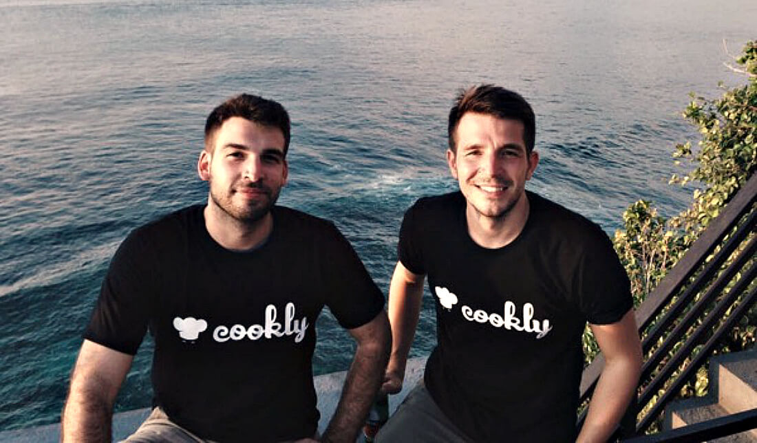 Founders of the Week: Etienne & Ben of Cookly