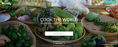 cookly.me homepage founder of the week