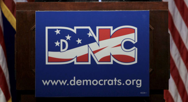 sign from Democratic National Convention