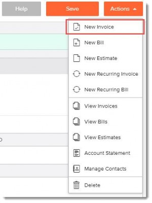 invoicely new invoice