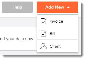 Invoicely options for invoicing and billing
