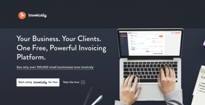 Invoicely invoicing and expense tracking software