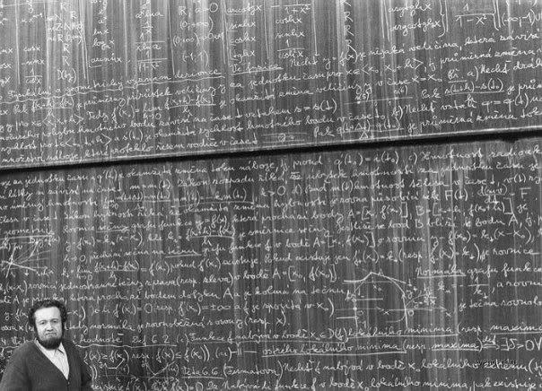math on chalkboard representing insurtech