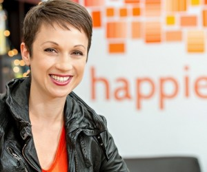 founder of Happier mindfulness app, Nataly Kogan