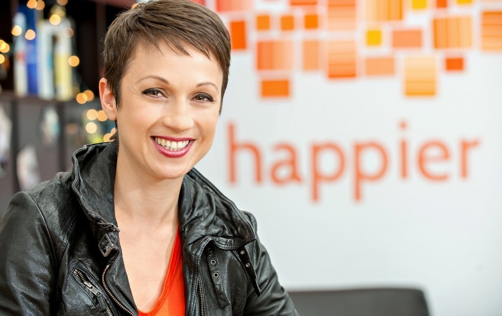 The Happier App Helps You Look At The Bright Side of Every Day