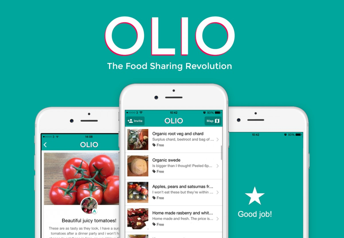London startup Olio's food sharing app