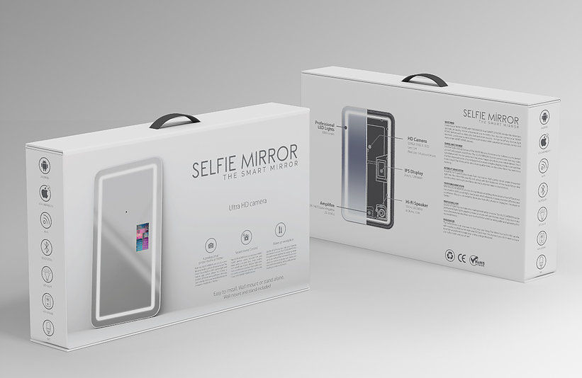 Selfie smart mirror packaging