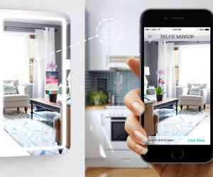 Selfie smart mirror app