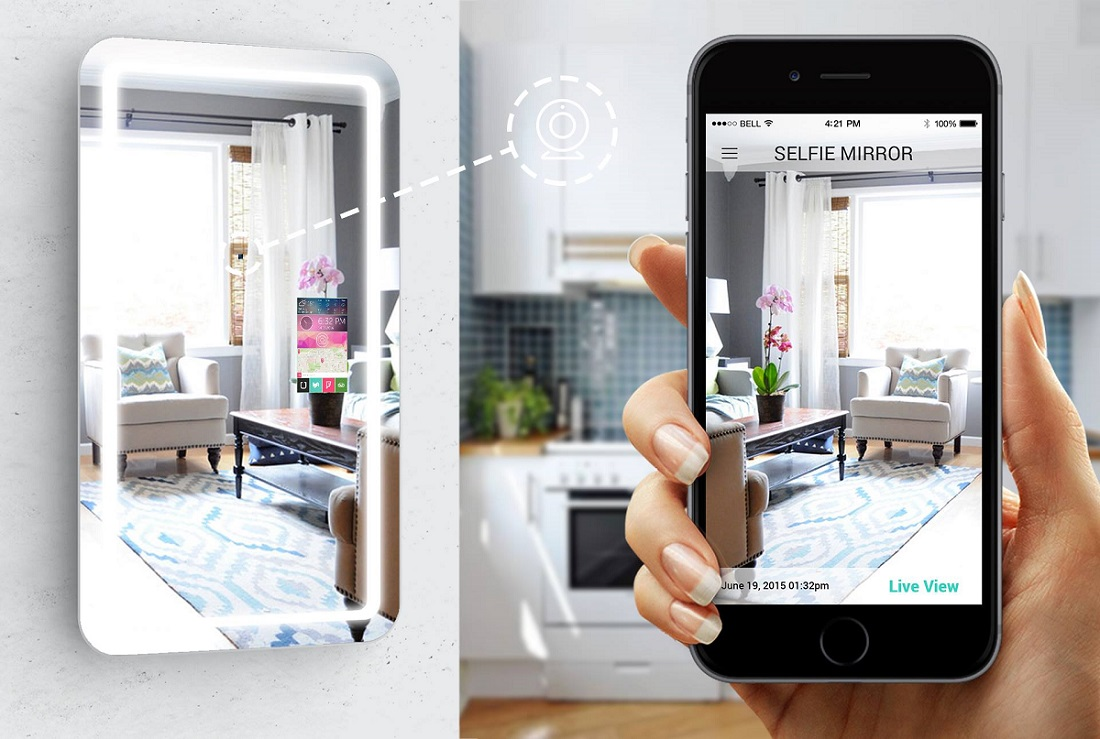 Apocalypse Notification: There's A Selfie Mirror (That Actually Does A Lot More)