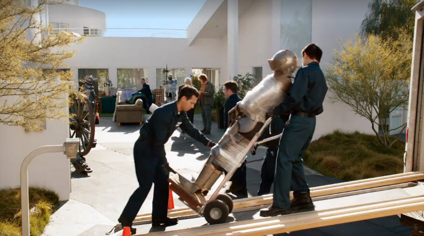 reposession of goods on HBO's Silicon Valley season 3 episode 7