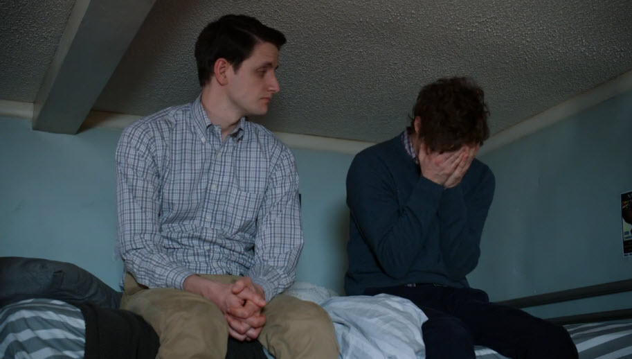 On Silicon Valley season 3 finale, Richard hangs head in shame while talking to Jared