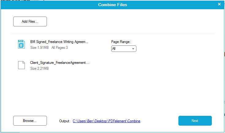 how to merge multiple PDFs with Wondershare PDFelement