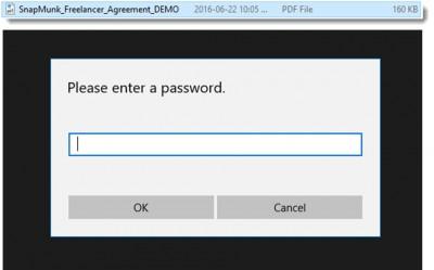 wondershare PDFelement password protect PDF