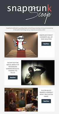 SnapMunk Newsletters