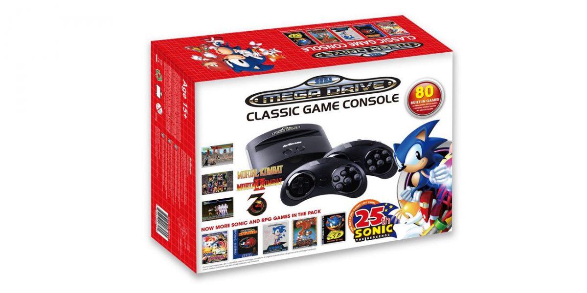 Sega Mega Drive Classic Game Console box
