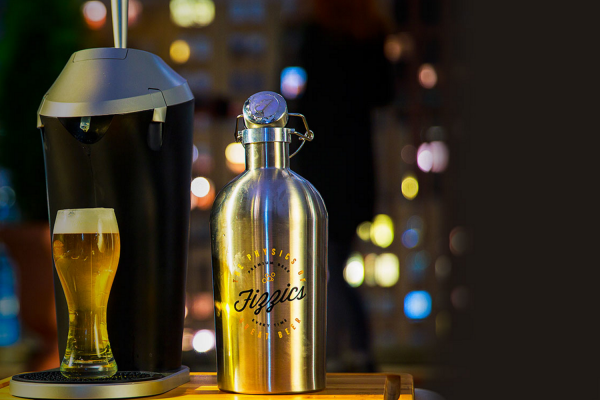 Fizzics beer pouring system