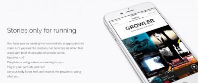 TRACKS Sound Blockbuster App for Running