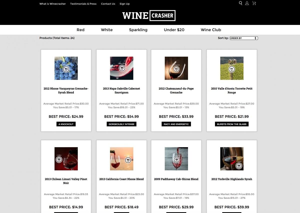 Winecrasher startup by Niv Nissenson