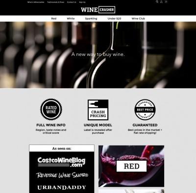 winecrasher website