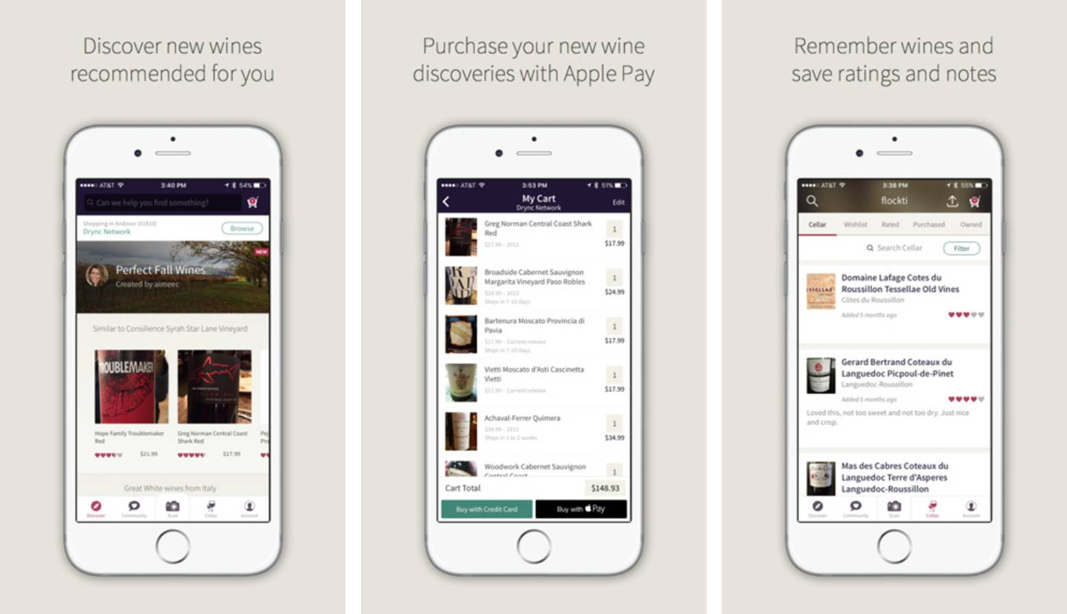 Drync app for wine lovers