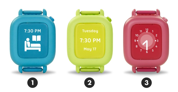 kids smartwatches in various colors and styles