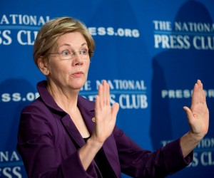 Elizabeth Warren discussing tech policy