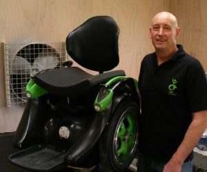 Interviewing Founder Kevin Halsall of Ogo, The Hands-Free Self-Balancing Wheelchair