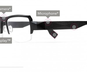 Glasses With In-Lens Navigation, Notifications & Photo Taking: Fashion Tech For Your Face