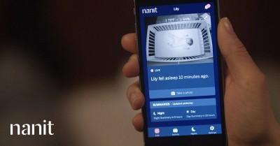 nanit baby monitor screen