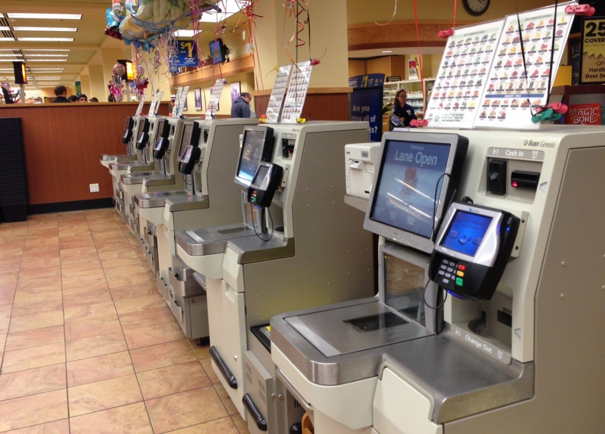 automation of retail checkout lanes