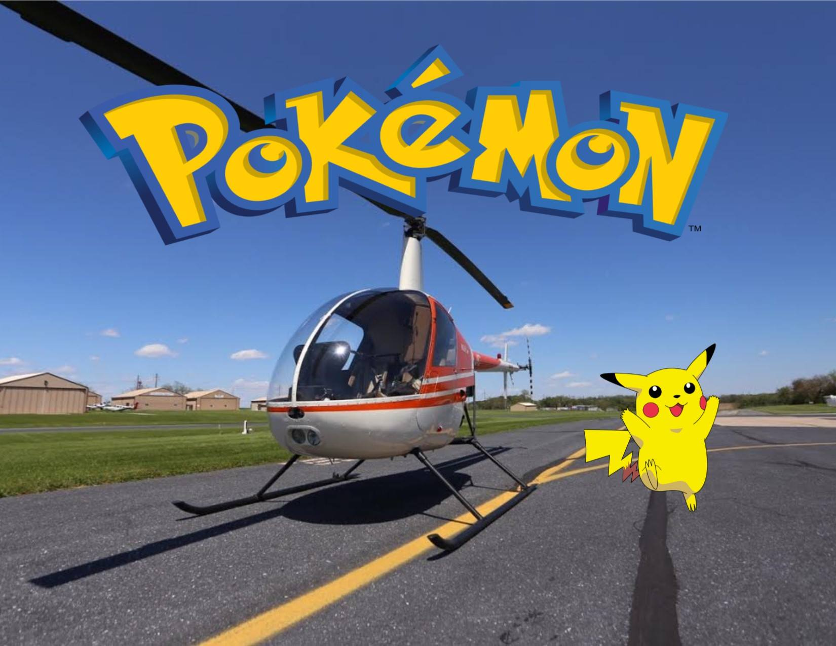 Pokémon Go helicopter tour