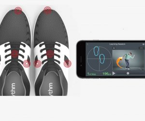 Rhythm smart shoes and app for dance lessons