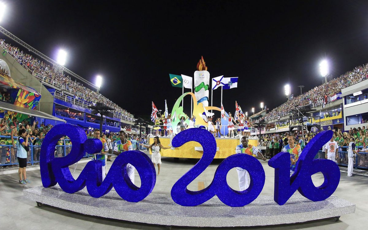Olympics Rio 2016 parade where tweeting was forbidden