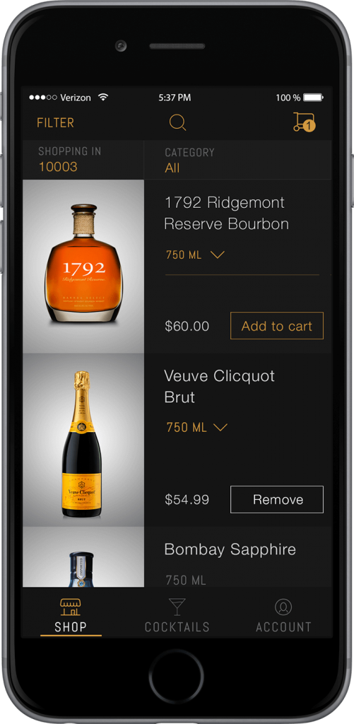 Thirstie app for wine lovers and buyers
