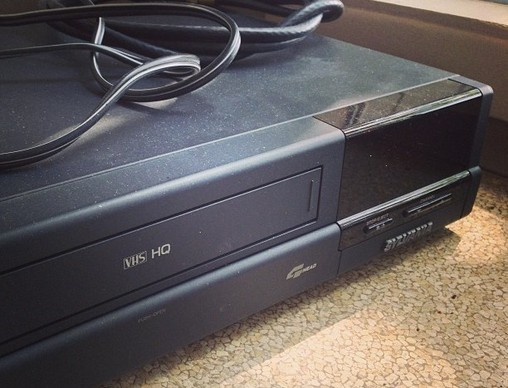 VHS VCR which will no longer be manufactured