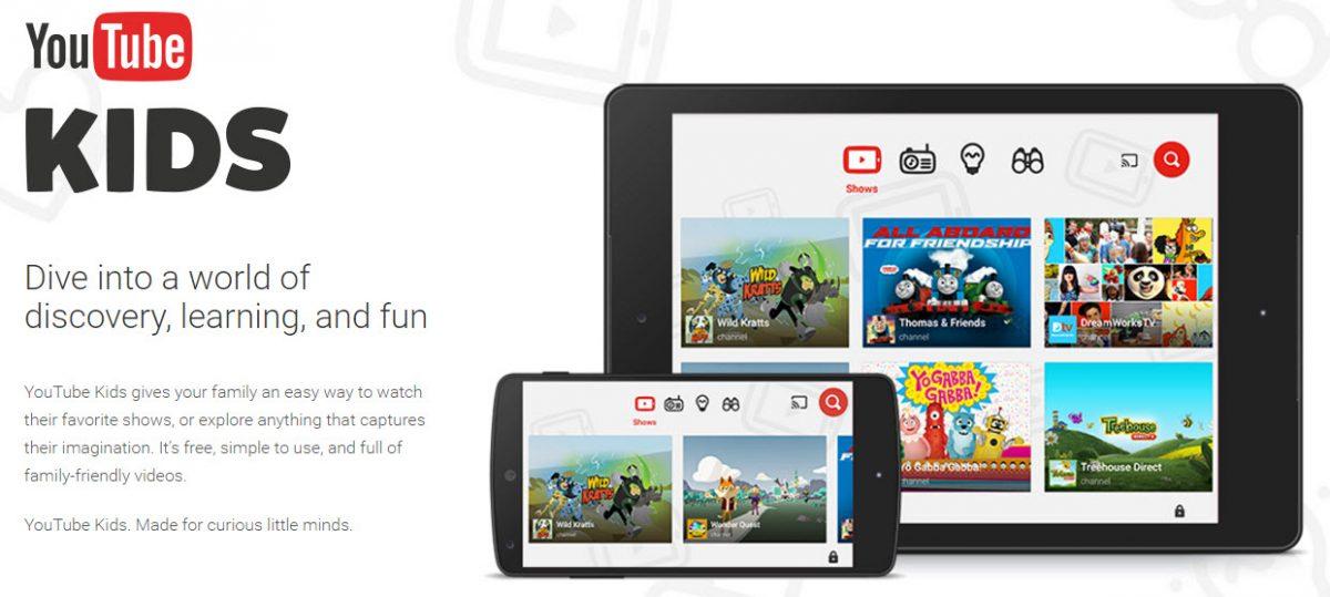 YouTube Kids ad