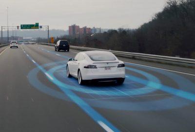 Teslaautopilotself driving