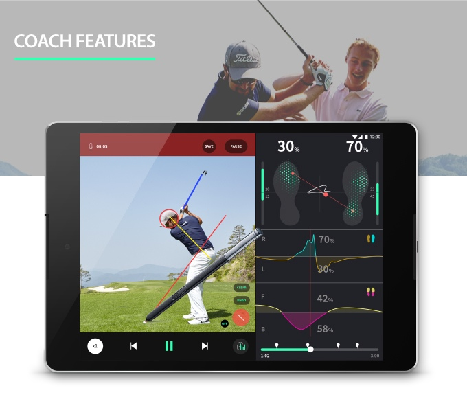 golf coaching app
