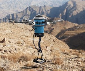 landmine detecting drone from Mine Kafon