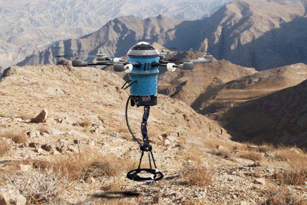 landmine detecting drone from Mine Kafon