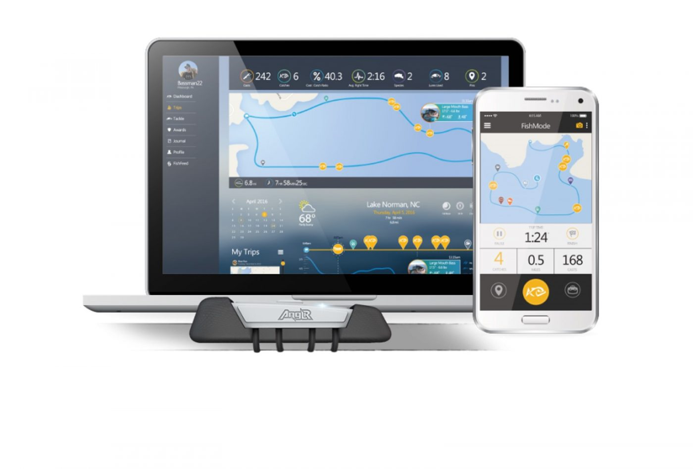 Anglr Is A Fishing Fitbit For Your Rod, Automatically
