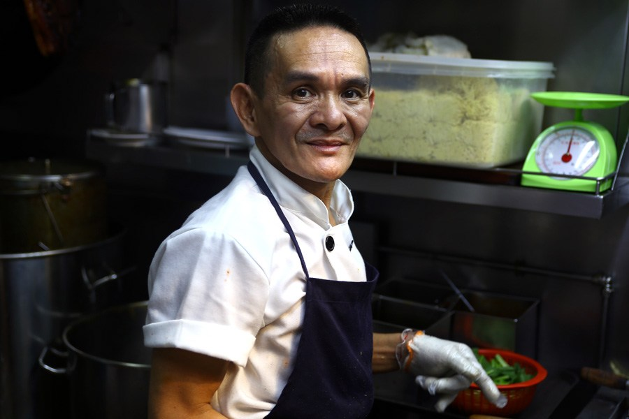 Michelin star winner and street food vendor Chan Hon Meng