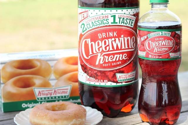 Cheerwine Kreme soda is a drink with food flavors to avoid