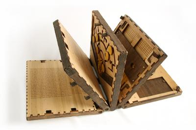 wooden puzzle book kickstarter